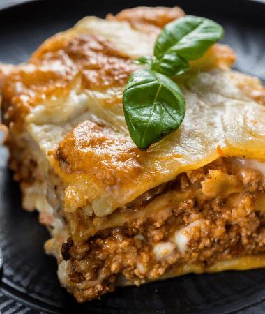 Pâtes Lasagnes à la sauce Pesto de pistache